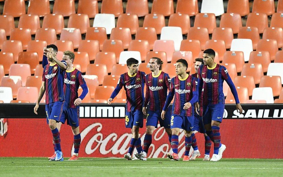 От Ла Лига ще започнат разследване срещу играчите наБарселоназаради нарушение