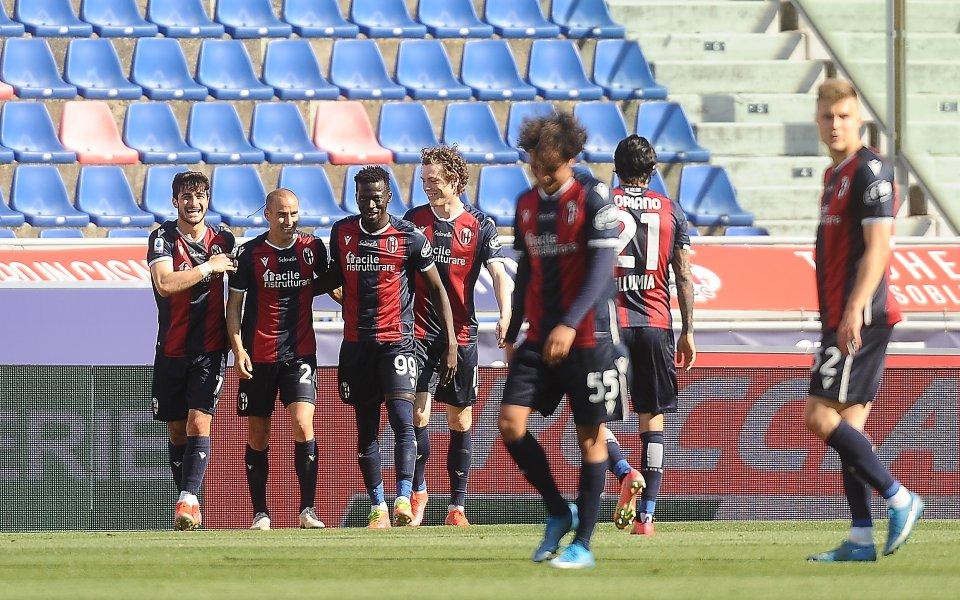 Болоня посреща Милан в мач от 9-ия кръг на Серия