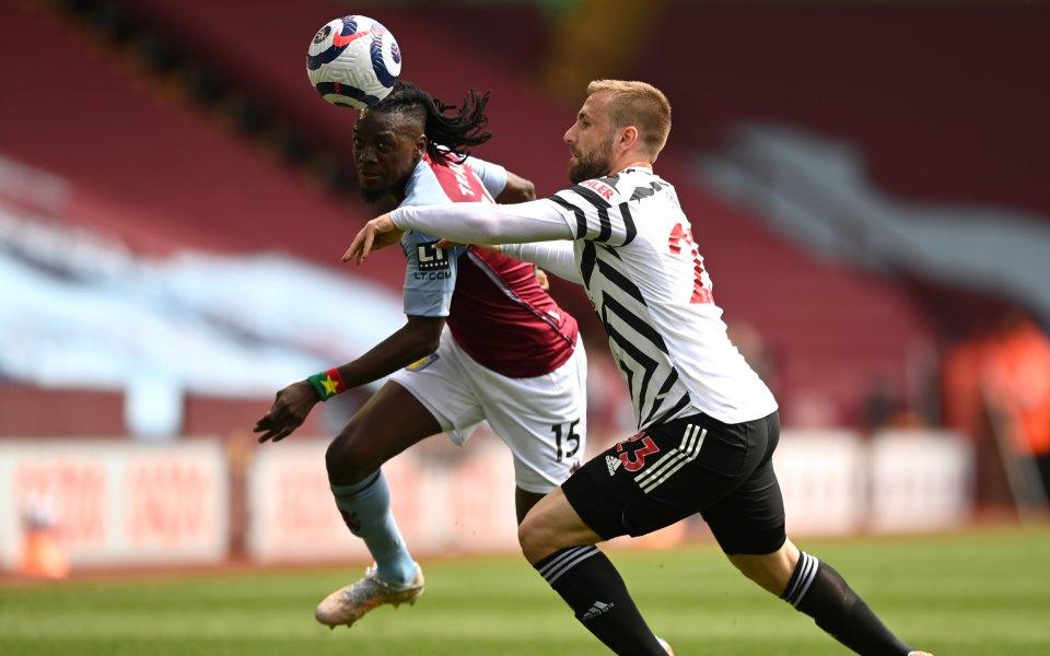 Астън Вила и Манчестър Юнайтед играят при 1:0 във втория