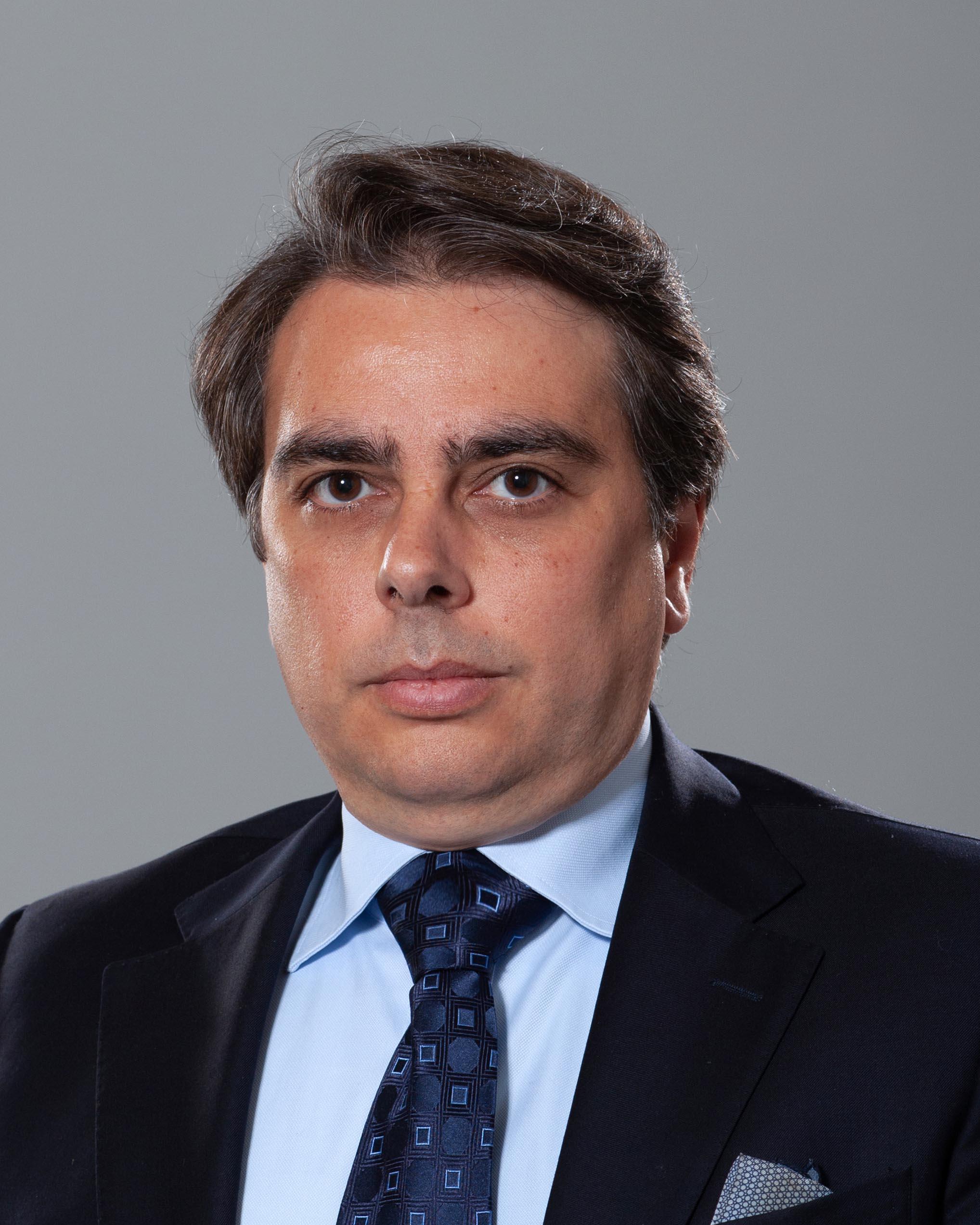 <p>Асен Васков Василев&nbsp;- служебен министър на финансите</p>