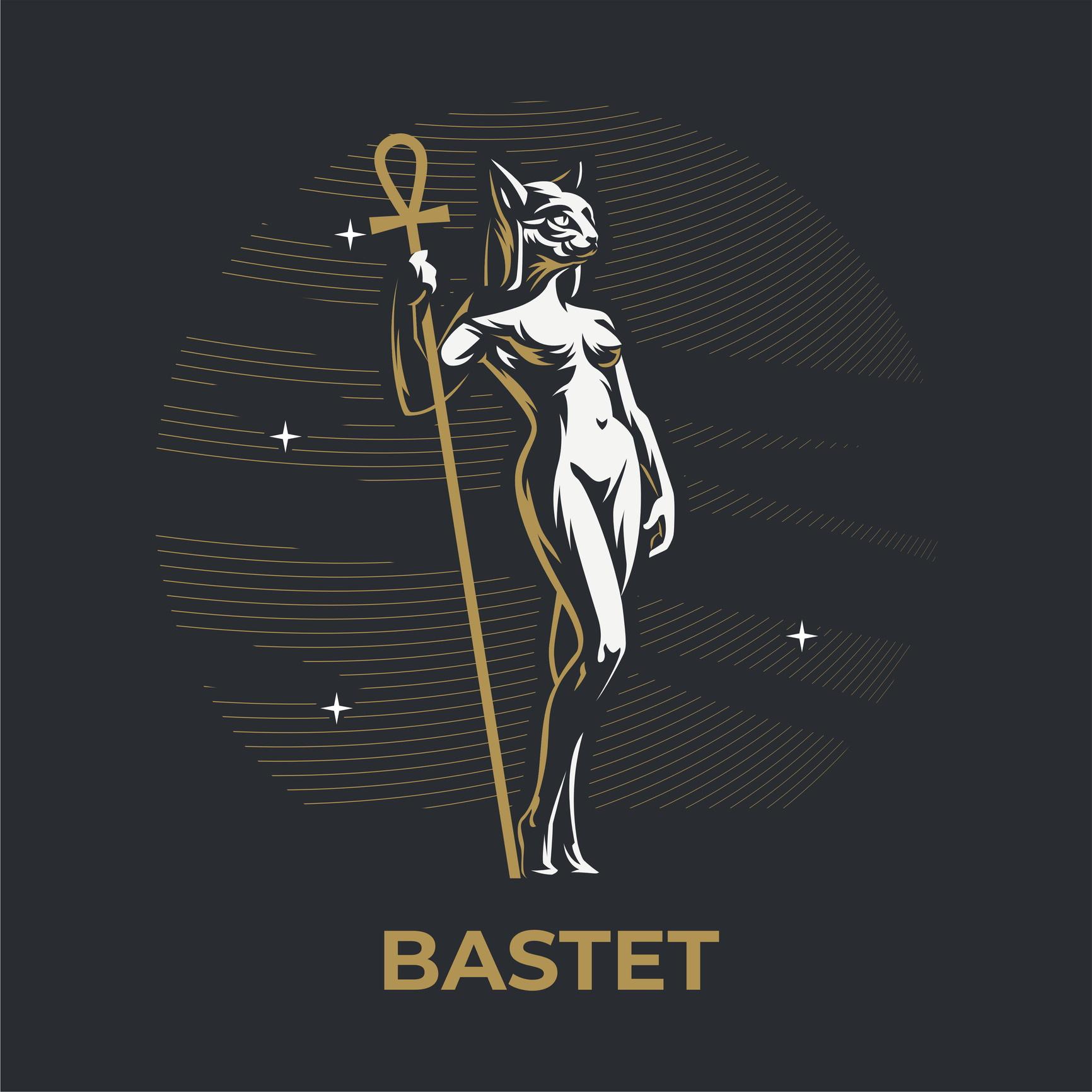 <p><strong>Бастет &ndash; богиня на радостта, празниците, танците, музиката, плодородието, покровителка на бременните жени &ndash; Рак</strong></p>  <p>Хората, родени под знака на Бастет са спокойни и жадуват за баланс в живота си, естествено са срамежливи и предпочитат по-тиха среда, до степен, в която дори могат да се изолират.</p>