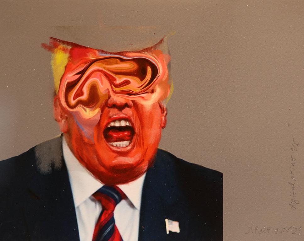 <p>Тръмп - дигитален принт</p>
