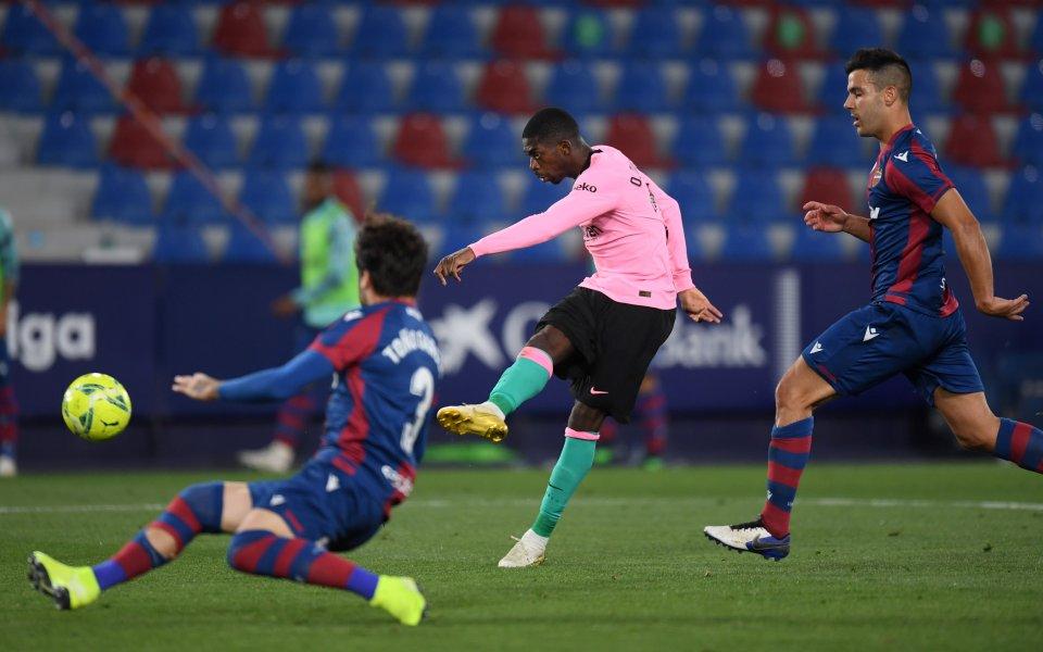 Отборите на Леванте и Барселонаиграят при резултат 3:3в мач от
