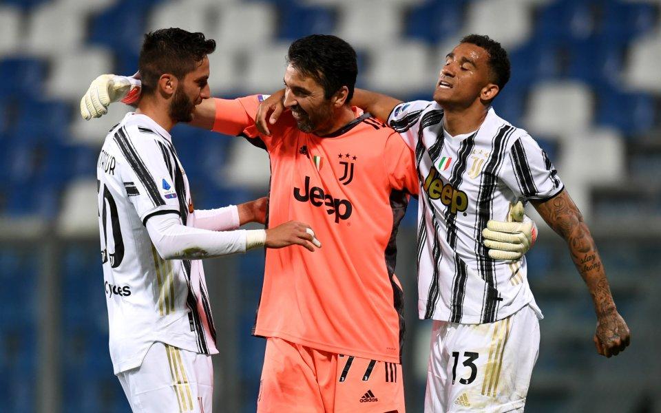 Ювентус победи с 3:1 в гостуването си на Сасуоло от