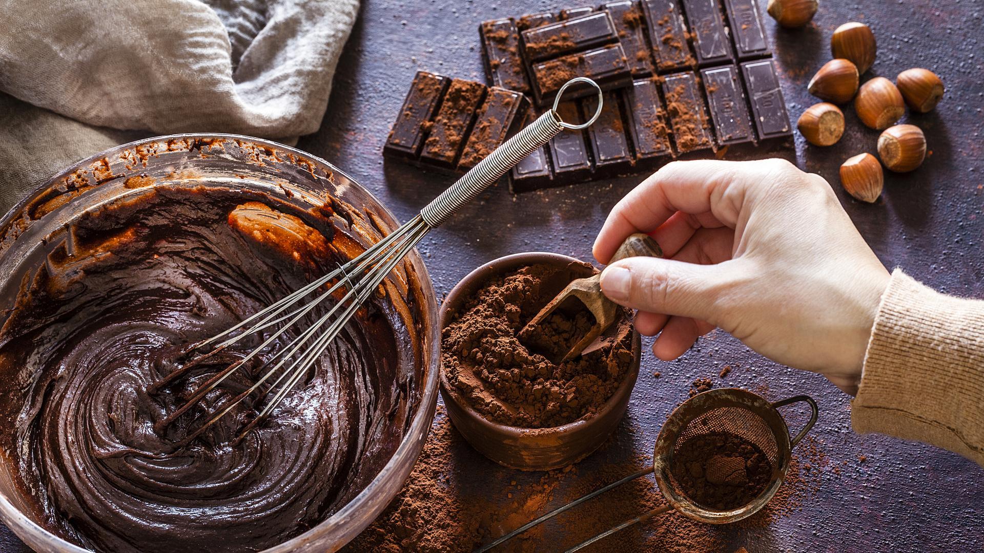 Сладко изкушение: Шоколадов кекс с тиквички