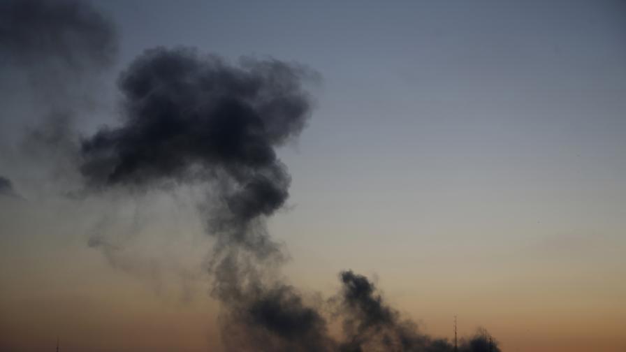 Израел отново нанесе въздушни удари в Газа