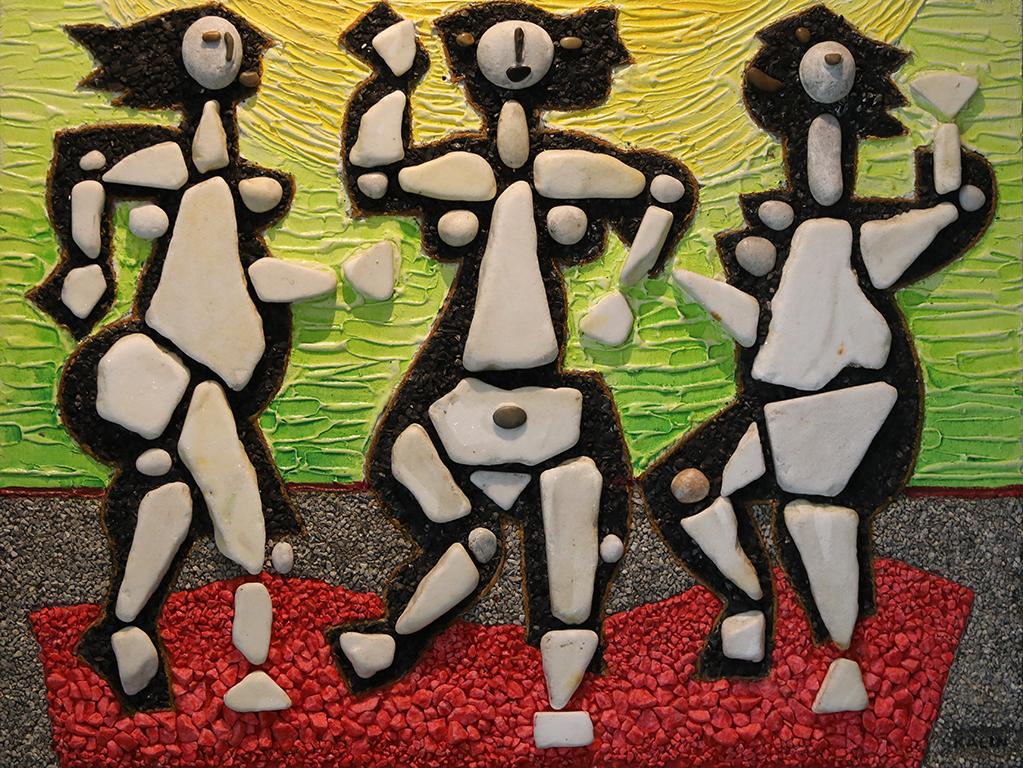 <p>Огнени ритми</p>  <p>Избрани участия: 1987 г. - &quot;АРТ -18&#39;87- Базел&quot; /Базел, Швейцария/. 1988 г. - Млади италиански и български художници - във фондация &quot;Франческо П. Микети&quot; /Италия/</p>  <p>&nbsp;</p>