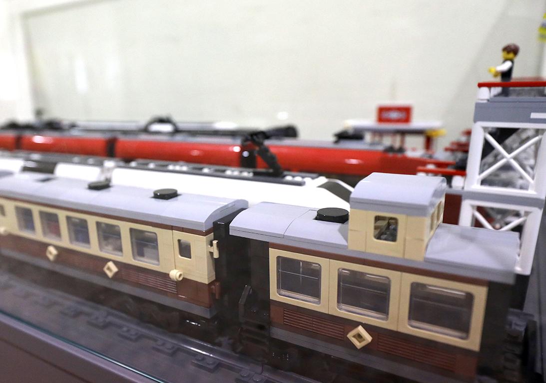 <p>Тя включва влакови композиции и локомотиви - от най-бързите пътнически влакове-стрела до тежкотоварни композиции и жп перони.</p>
