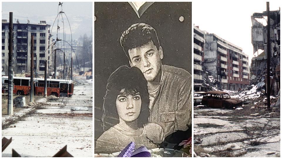Адмира и Бошко Сараево война