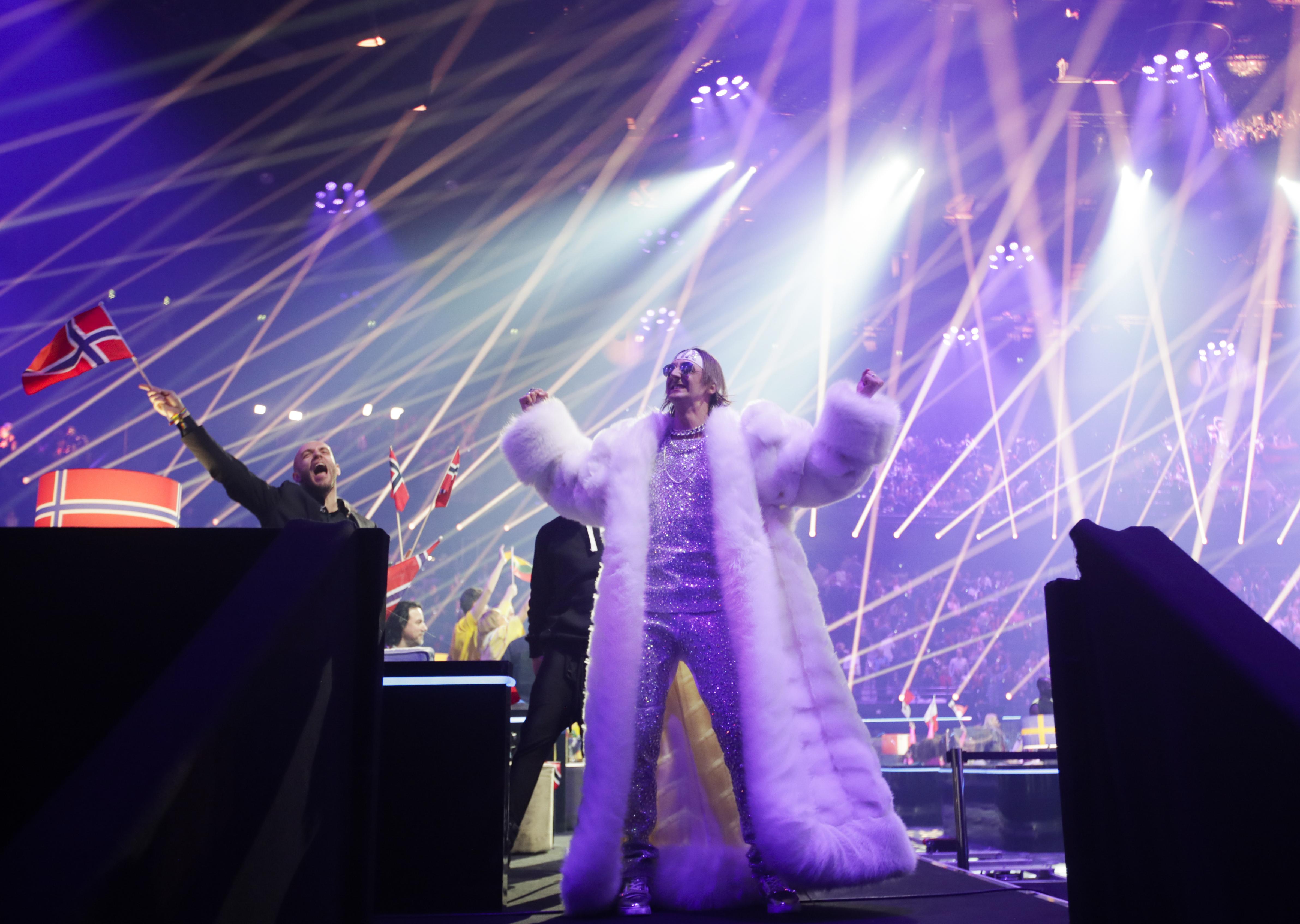 <p>Първи полуфинал на &quot;Евровизия&quot; 2021</p>