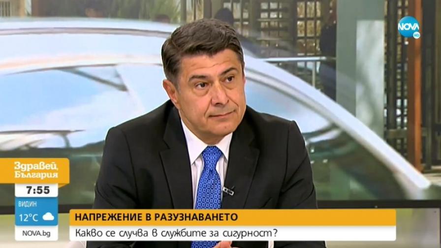 Ген. Димо Гяуров: Шефовете на ДАНС и ДАР сами си сложиха този етикет