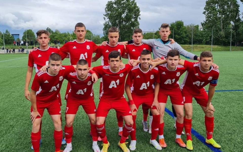 Синът на Любо Пенев блести за юношите на ЦСКА