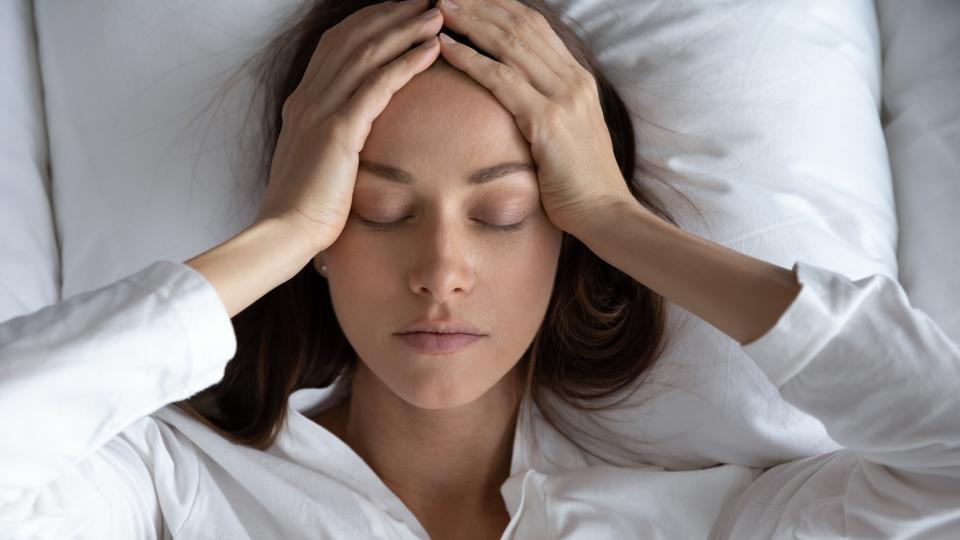 мигрени масаж