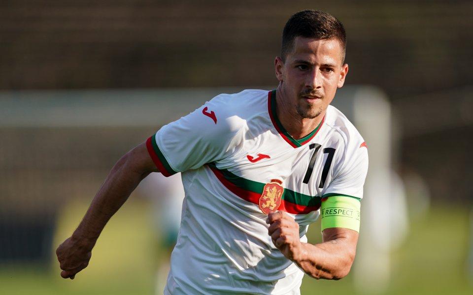 Един от талантливите български футболисти зад граница – Мартин Минчев