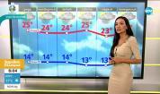Прогноза за времето (10.06.2021 - сутрешна)