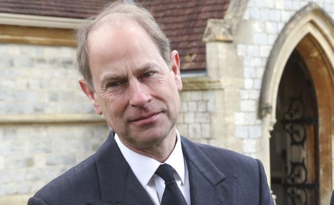Принц Едуард коментира ситуацията с Хари и Меган