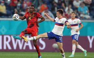 ГЛЕДАЙТЕ НА ЖИВО: Белгия 2:0 Русия, 3 принудителни смени