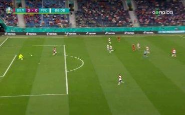 Трети гол за Белгия