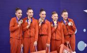 Грандиозен успех за ансамбъла ни по художествена гимнастика
