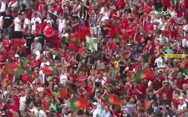 Кристиано Роналдо удвои от дузпа срещу Унгария