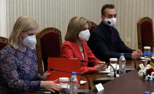 Румен Радев пред Стела Кириакиду: Успехът на имунизационната кампания зависи от избора на ваксини