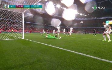 Англия - Шотландия 0:0 /репортаж/