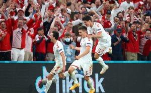 Дания избухна, попиля клетите руснаци и намери място на 1/8-финалите на UEFA EURO 2020