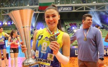 Петя Баракова ще продължи кариерата си в Румъния