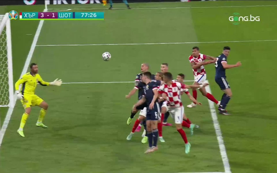 Много красив гол вкара Иван Перишич в 77-ата минута, с