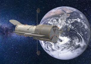 Повреди се космическият телескоп
