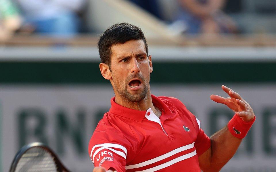 Световният №1 в тениса Новак Джокович е потвърдил намерението си