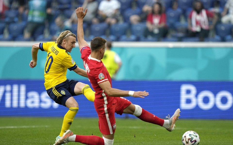 След само 89 секунди игра в Санкт Петербург Швеция поведе