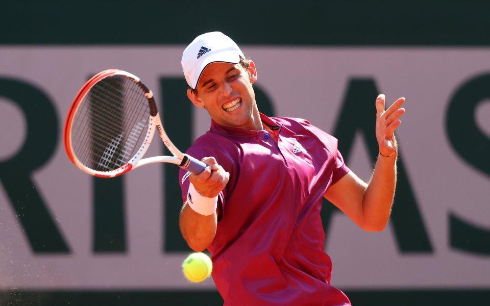 Намиращият се на пето място в световната ранглиста по тенис