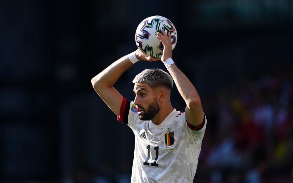 Белгия е в значително по-трудната половина на елиминациите на UEFA