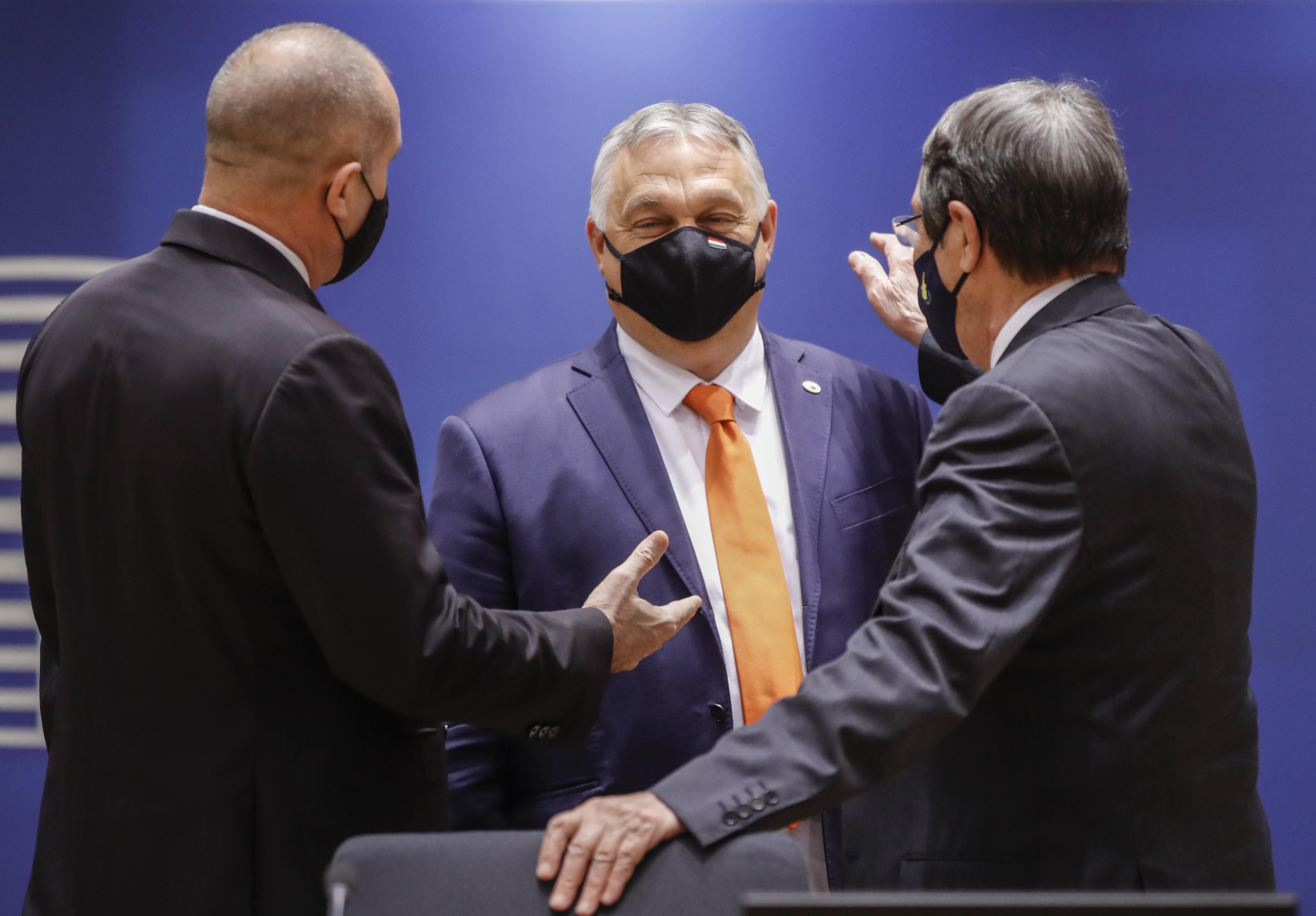 <p>Посещение на президента Румен Радев в Брюксел</p>