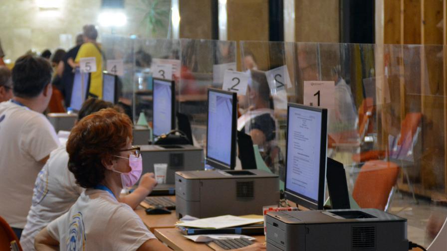 <p>Броят повторно гласовете в 32 от секциите в Благоевград</p>