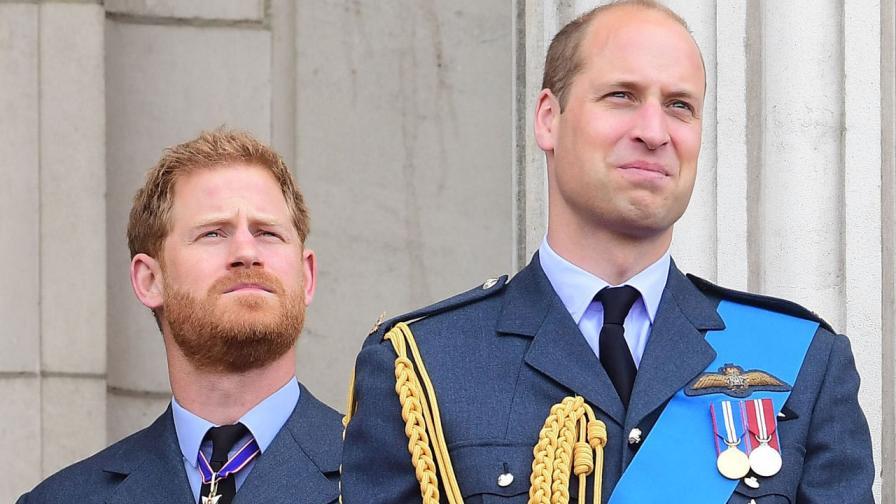 <p>Дълг срещу любов: Уилям брани Короната, Хари - Меган</p>