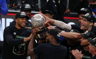 Милуоки за първи път на финал в НБА от 47 години