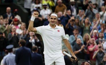 Федерер с експресна победа по пътя към четвъртфиналите