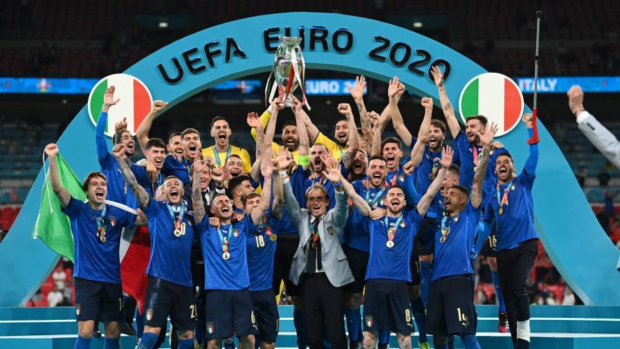 <p>Италия е шампионът на Европа</p>
