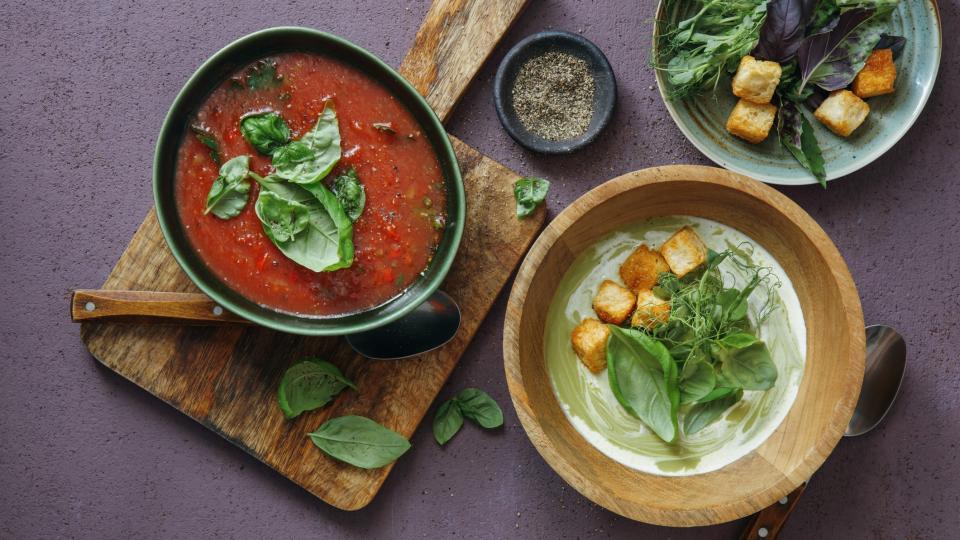 храна супа лято супи зеленчуци
