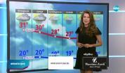 Прогноза за времето (19.07.2021 - централна емисия)