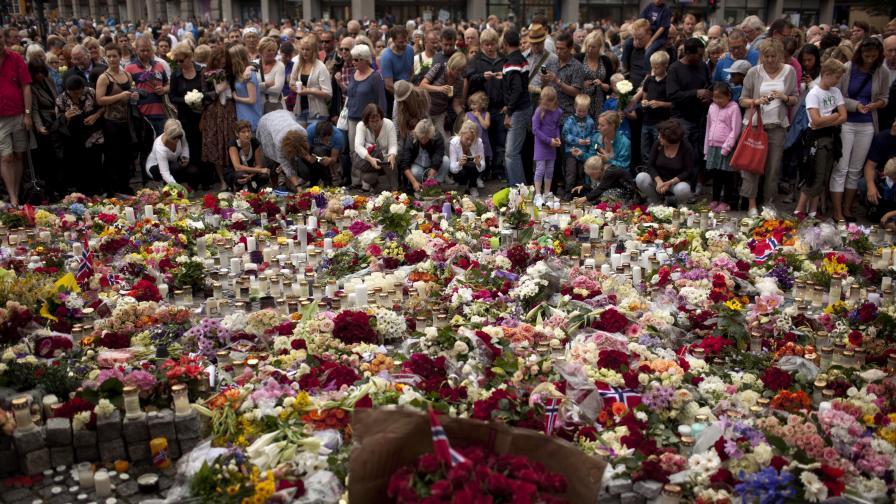 <p>22 юли 2011 г.: Трагедията се яви в образа на&nbsp;Брайвик</p>
