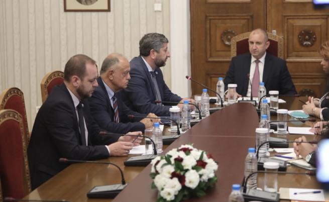 Демократична България на консултациите при президента Румен Радев