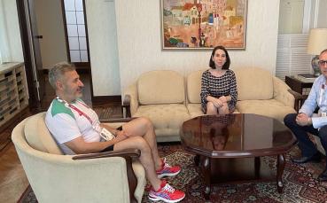Министър Кузманов бе запознат с подготовката и състоянието на олимпийците ни в Токио