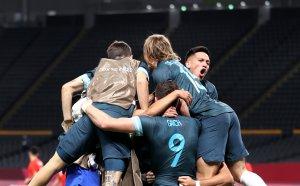 Георги Кабаков реферира отлично при трудна победа на Аржентина над Египет на Токио 2020