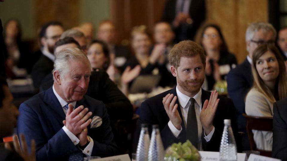 принц Чарлз принц Хари
