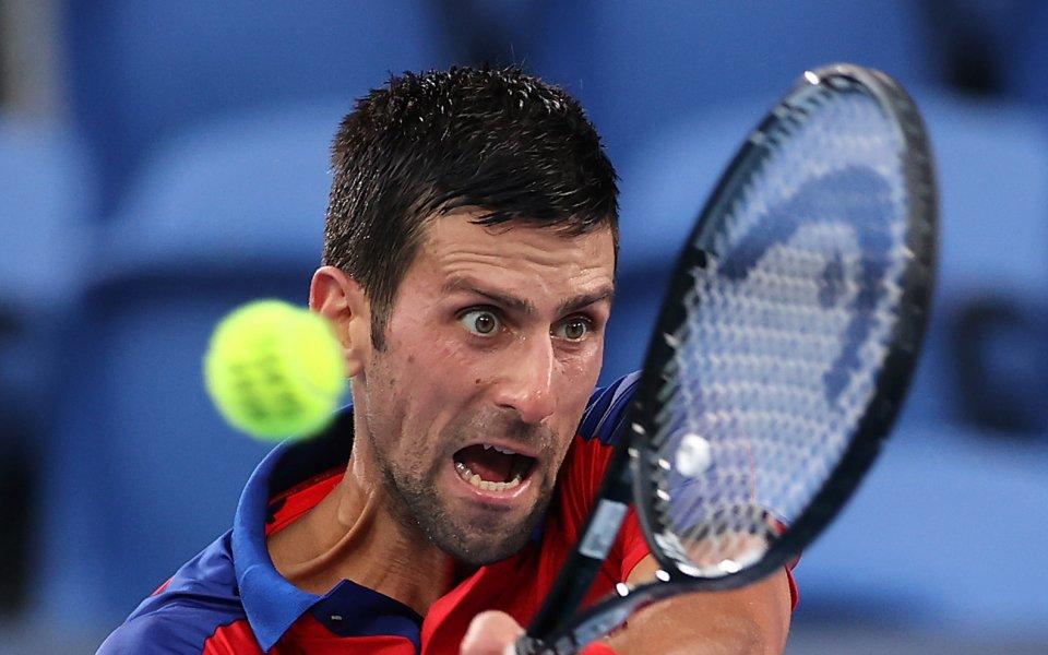 Световният номер 1 в тениса Новак Джокович призна, че стимулът