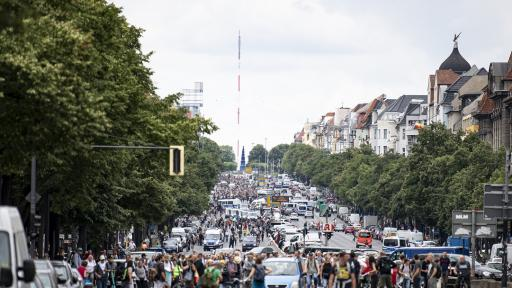 Сблъсъци и насилие, стотици арестувани в Берлин