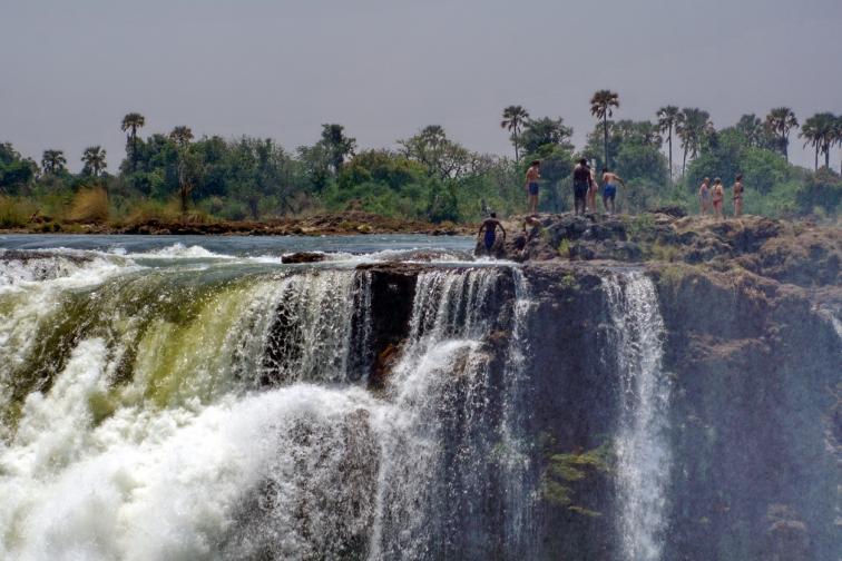Дяволският басейн Зимбабве